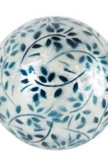 Boule nacré et turquoise