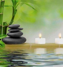 """Cadre DEL méditation lumineux 6"""" x 8"""""""