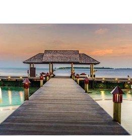 """Toile Bali lumineux 16"""" x 24"""""""