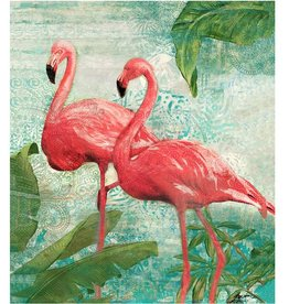 "Toile 2 flamants 31"" X 40"""