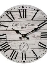 """Horloge café de la gare 14"""""""