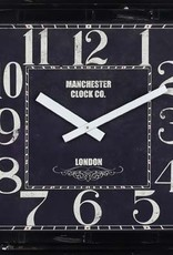 "Horloge carrée 23"" X 23"""