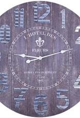 "Horloge des fleurs 31.5"""