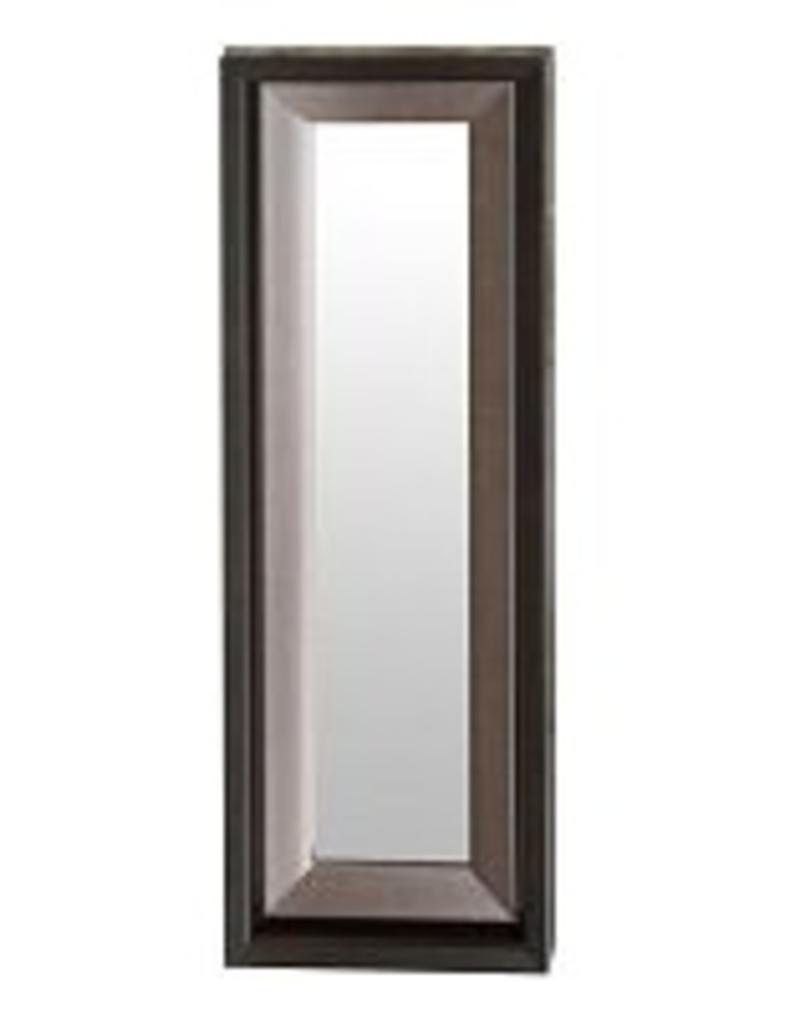 """Miroir brun et bronze 11.5"""" X 33.5"""""""