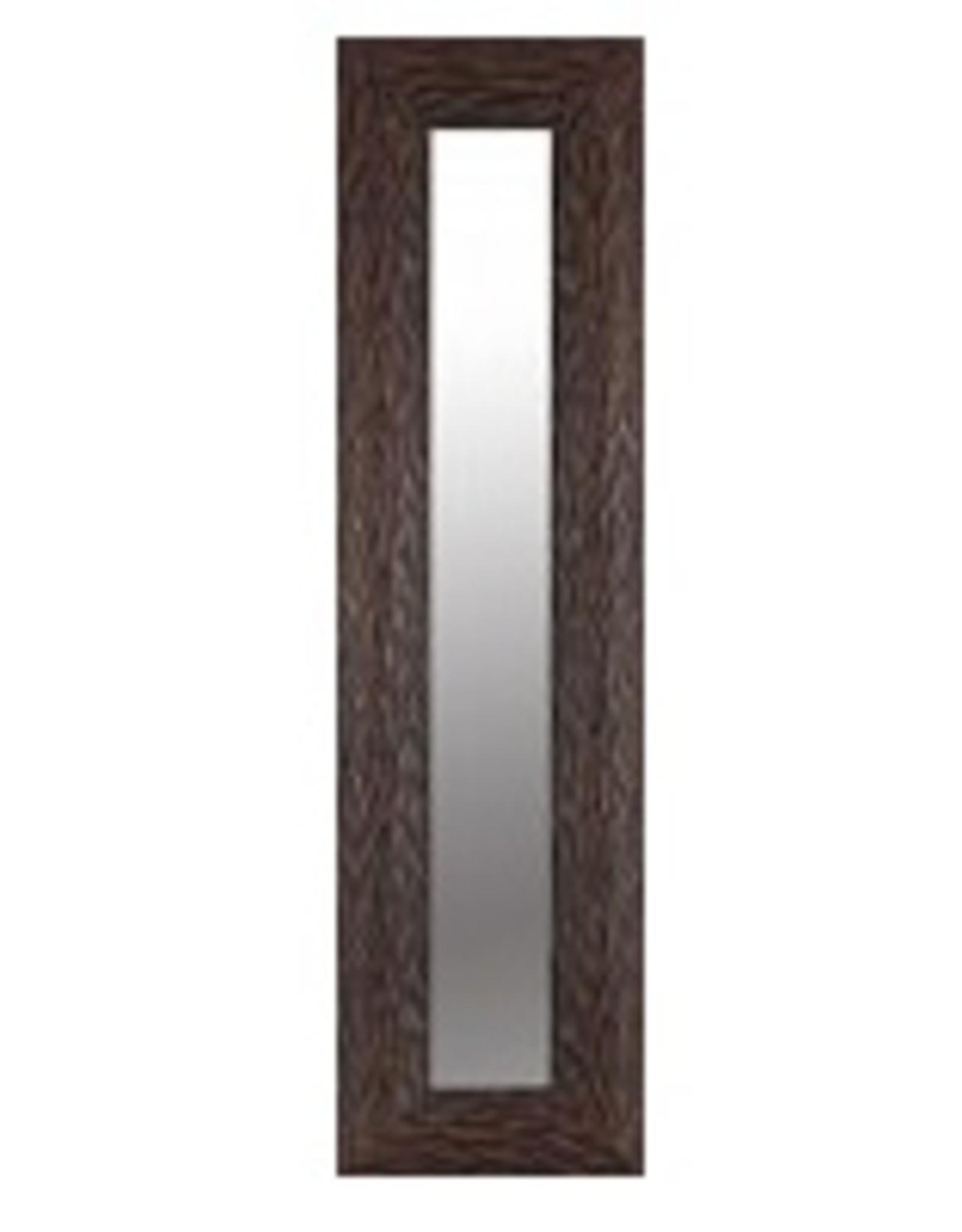 """Miroir brun foncé 10"""" X 36"""""""