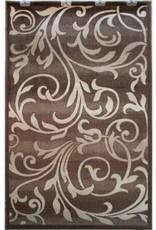 Tapis Art Silk Capri brown 2' X 4'