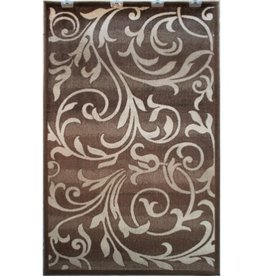 Tapis Art Silk Capri brown 2' X 4'