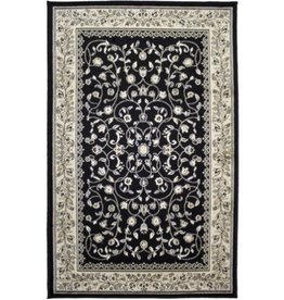 Tapis Art Silk Sarook Black 2' X 4'