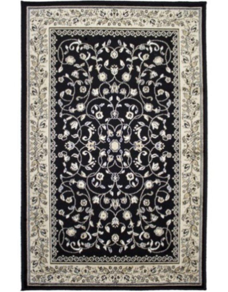 Tapis Art Silk Sarook Black 2' X 4'