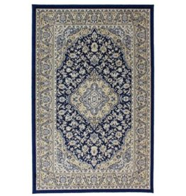 Tapis Art Silk Kirman Navy 2' X 4'