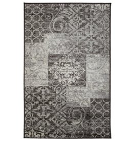 Tapis Trace Faded Gray/Brown                          2' X 4'