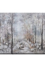 "Toile forêt magique MAGICAL FOREST 28"" X 55"""