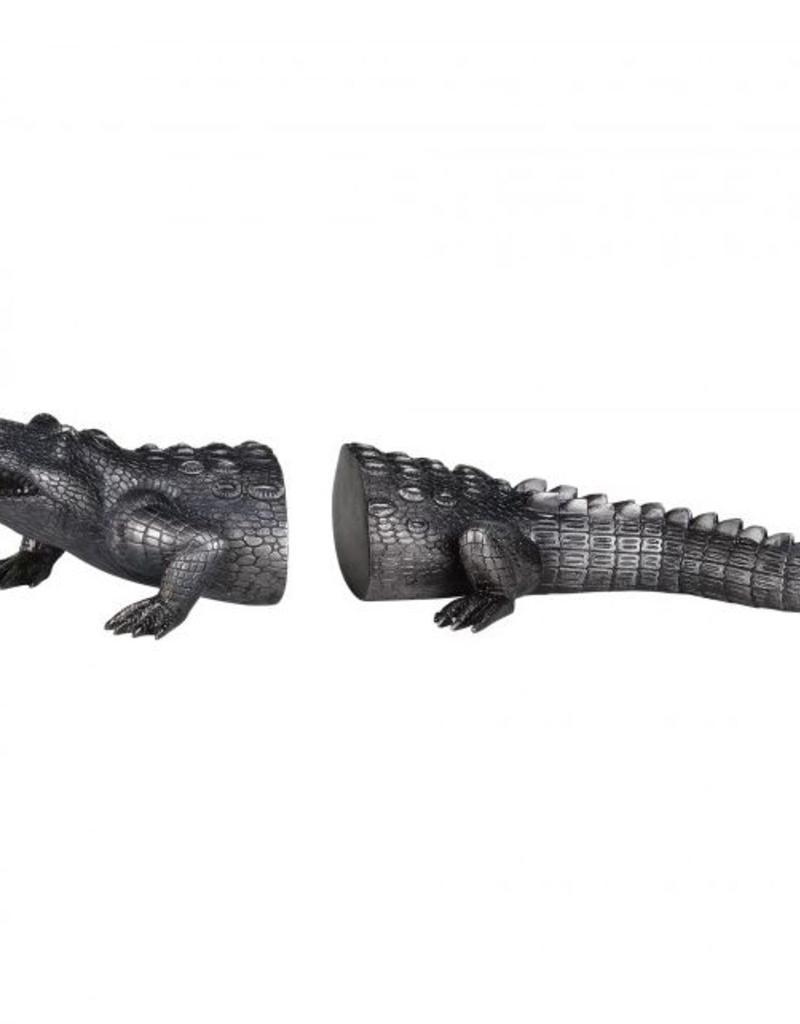 Appui livre crocodile