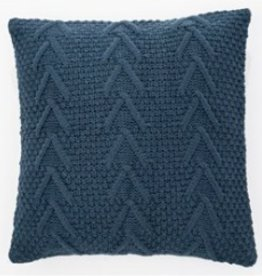 "Coussin tricot Atelier marine 18"" X 18"""