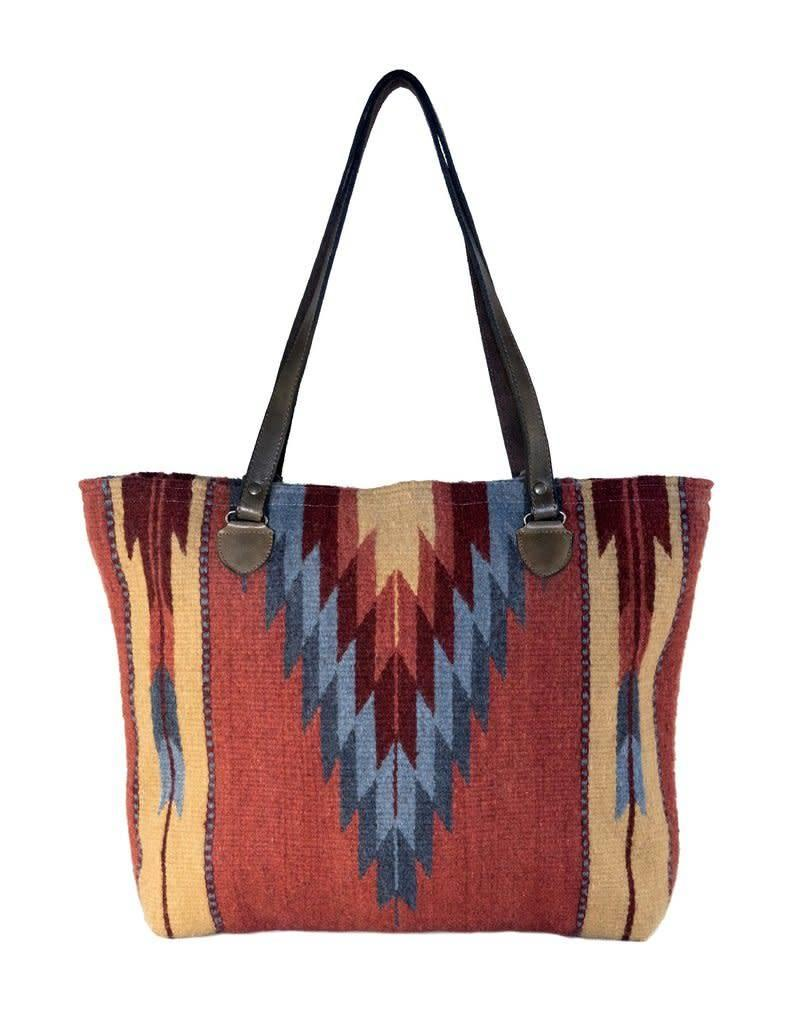 MZ Fair Trade Fire + Sky Tote