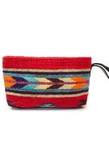 MZ Fair Trade Scarlet Arrow Wristlet Clutch