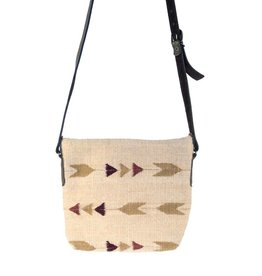 MZ Fair Trade Autumn Arrows Crossbody Purse