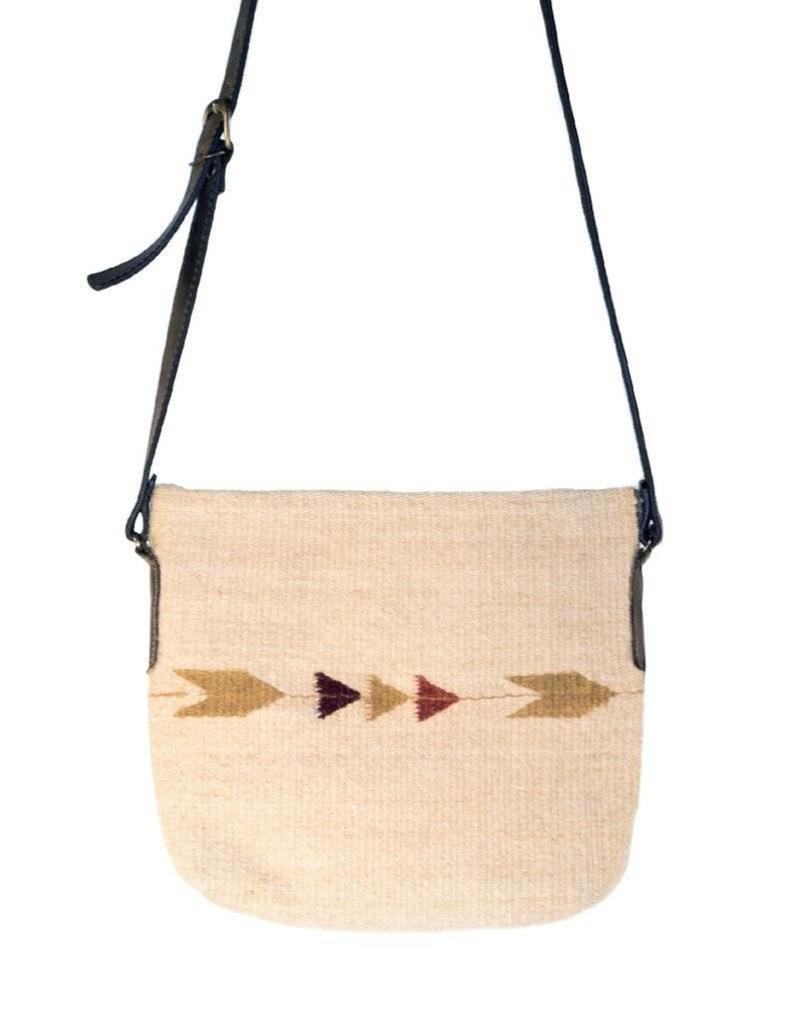 MZ Fair Trade Autumn Arrows Crossbody Purse