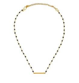 Purpose Jewelry Black Coastal Choker Necklace