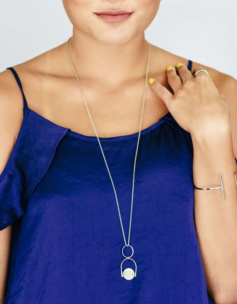 Purpose Jewelry Noble Silver Necklace