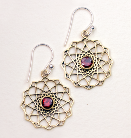 dZi Universal Center Earrings
