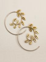 dZi Laurel Wreath Earrings