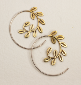 dZi Laurel Wreath Earrings