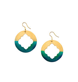 Matr Boomie Gold Patina Earrings