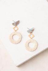 Starfish Project Bella Resin & Wicker Earrings