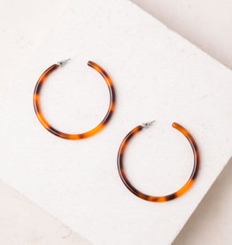 Starfish Project Alice Resin Hoop Earrings