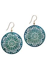 Tara Projects Lacy Mandala Earrings