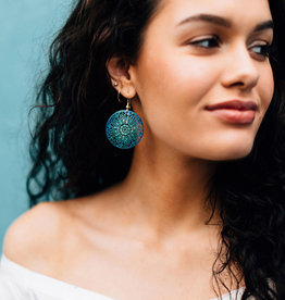 Tara Projects Lacy Mandala Earrings