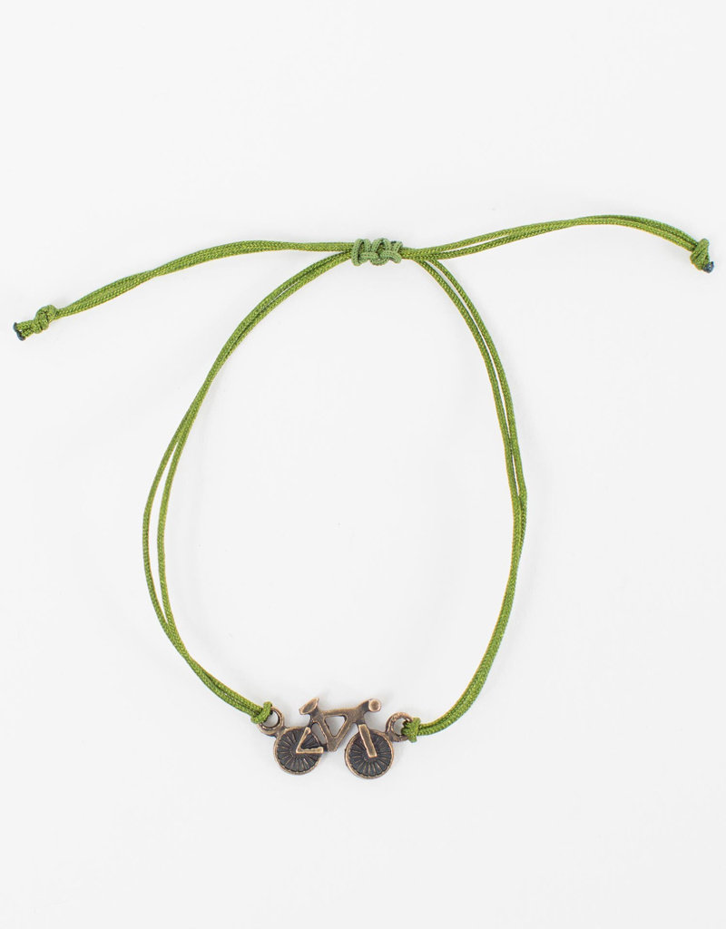 Bike Charm Bracelet