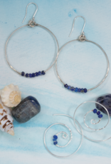 dZi Infinite Lapis Earrings