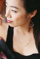 Purpose Jewelry Lunette Silver Earrings