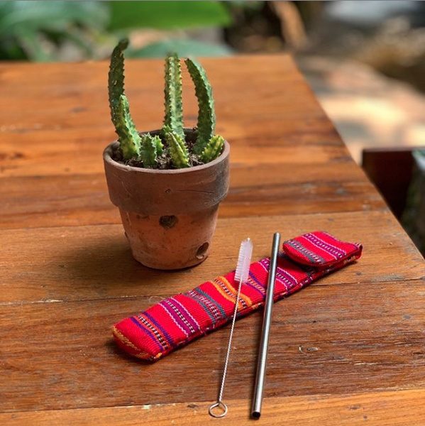 Reusable Straw Kit from HumanKind Fair Trade
