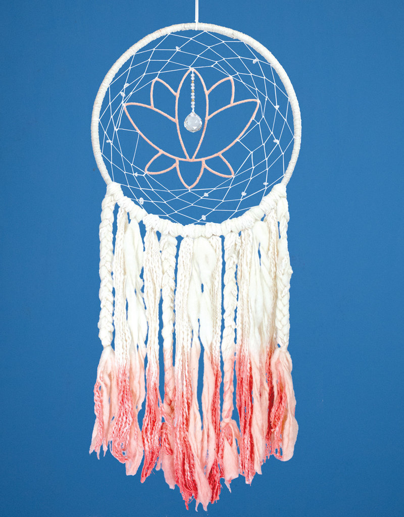 dZi Lotus Dreamcatcher