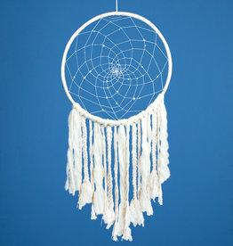 dZi White Sun Dreamcatcher