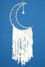 dZi White Moon Dreamcatcher