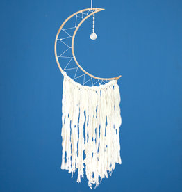 dZi White Moon Dreamcatcher