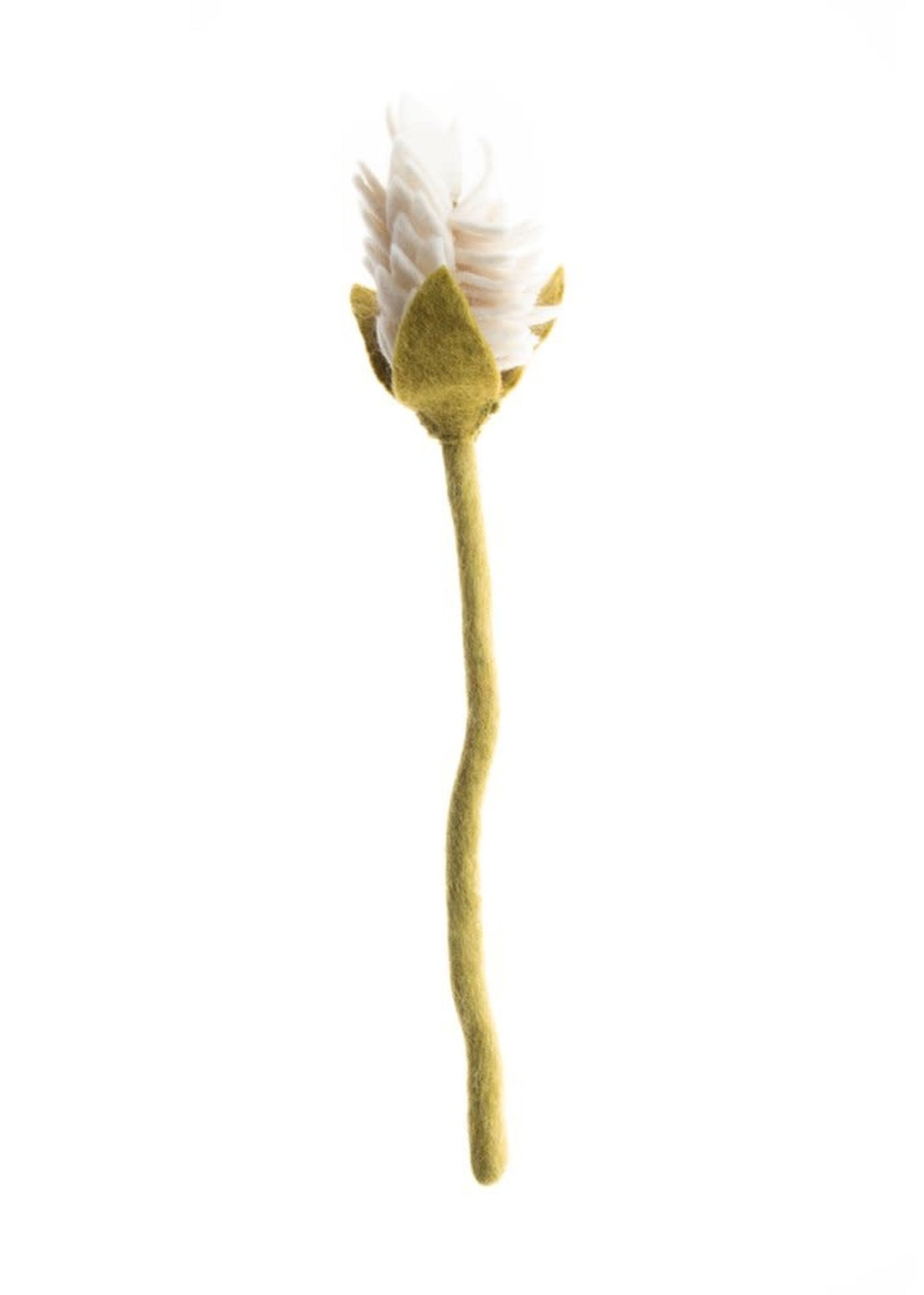 Global Goods Partners Felt Alpinia Flower
