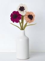 Global Goods Partners Felt Anemone Flower