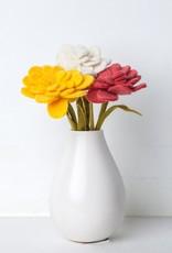 Global Goods Partners Felt Zinnia Flower