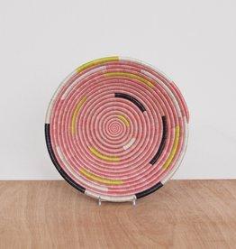 Kazi Medium Pale Blush Spiral Basket