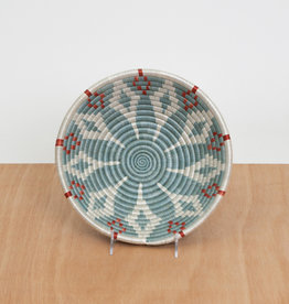 Kazi Medium Silver Blue + Ginger Basket