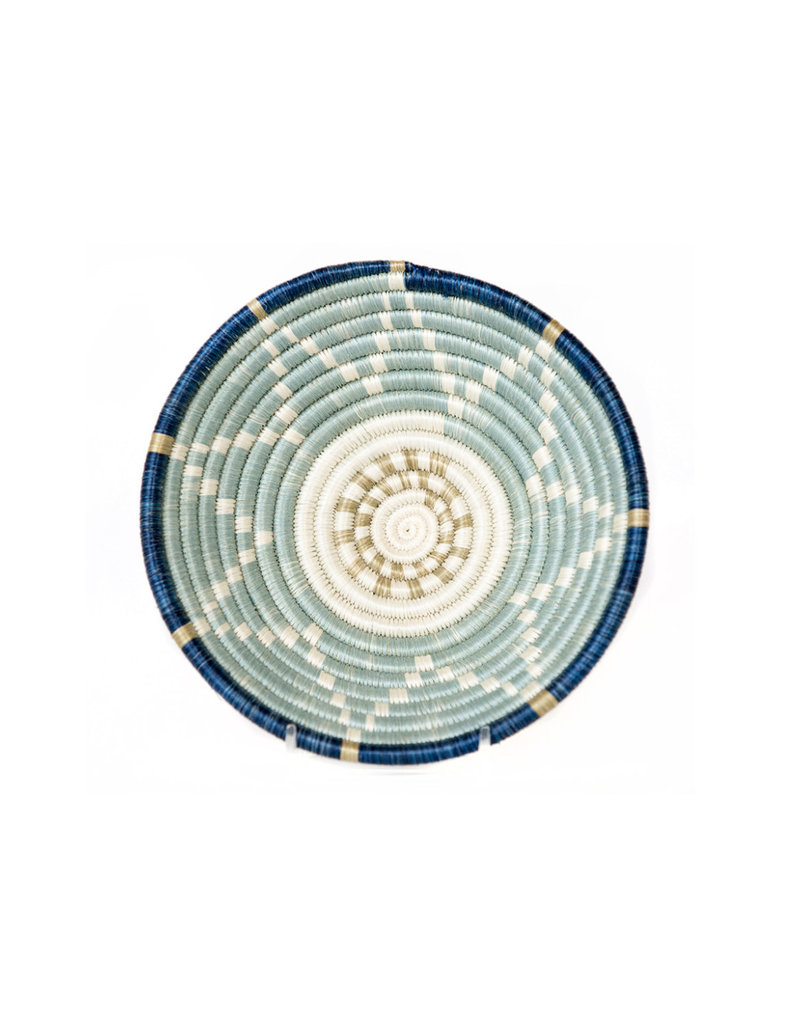 Kazi Small Silver Blue + Ficelle Basket