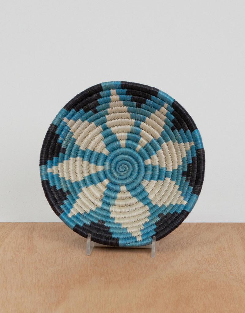 Kazi Small Arctic Blue Jani Basket