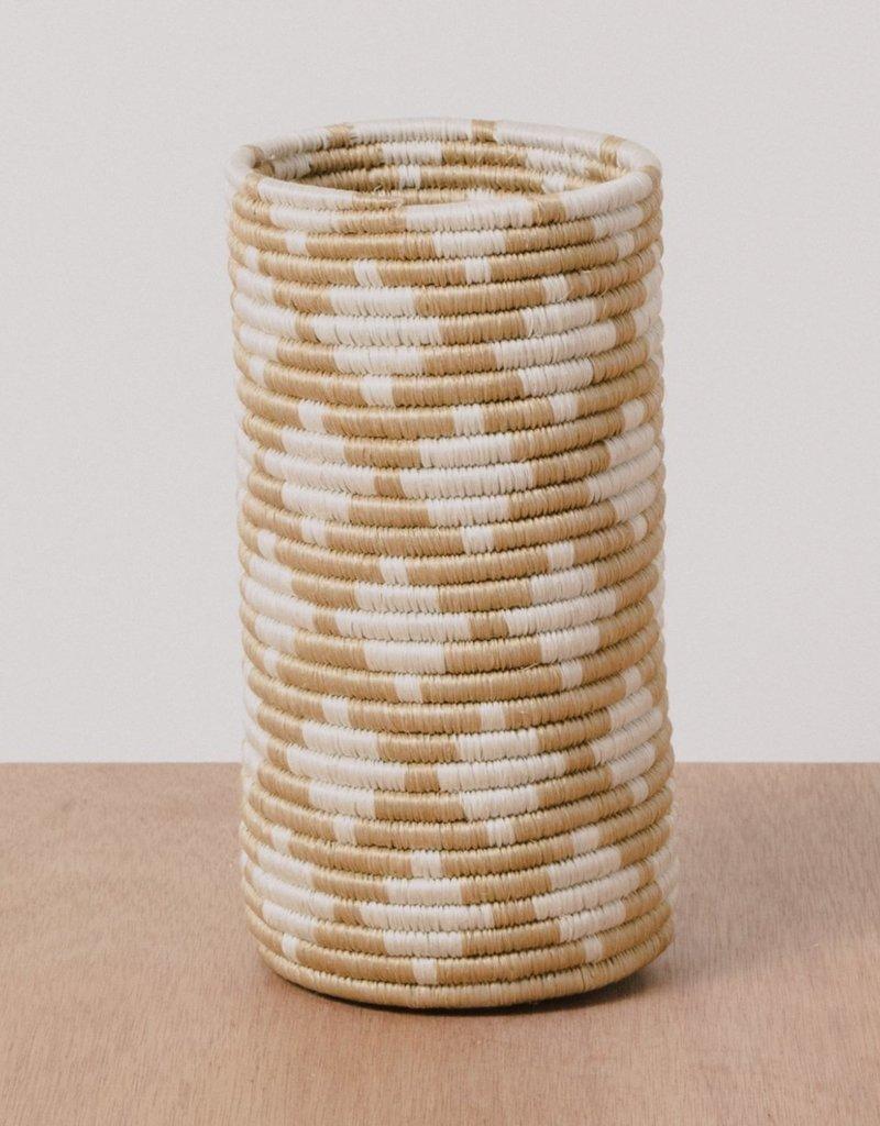 Kazi Soft Gold Almasi Sisal Vase
