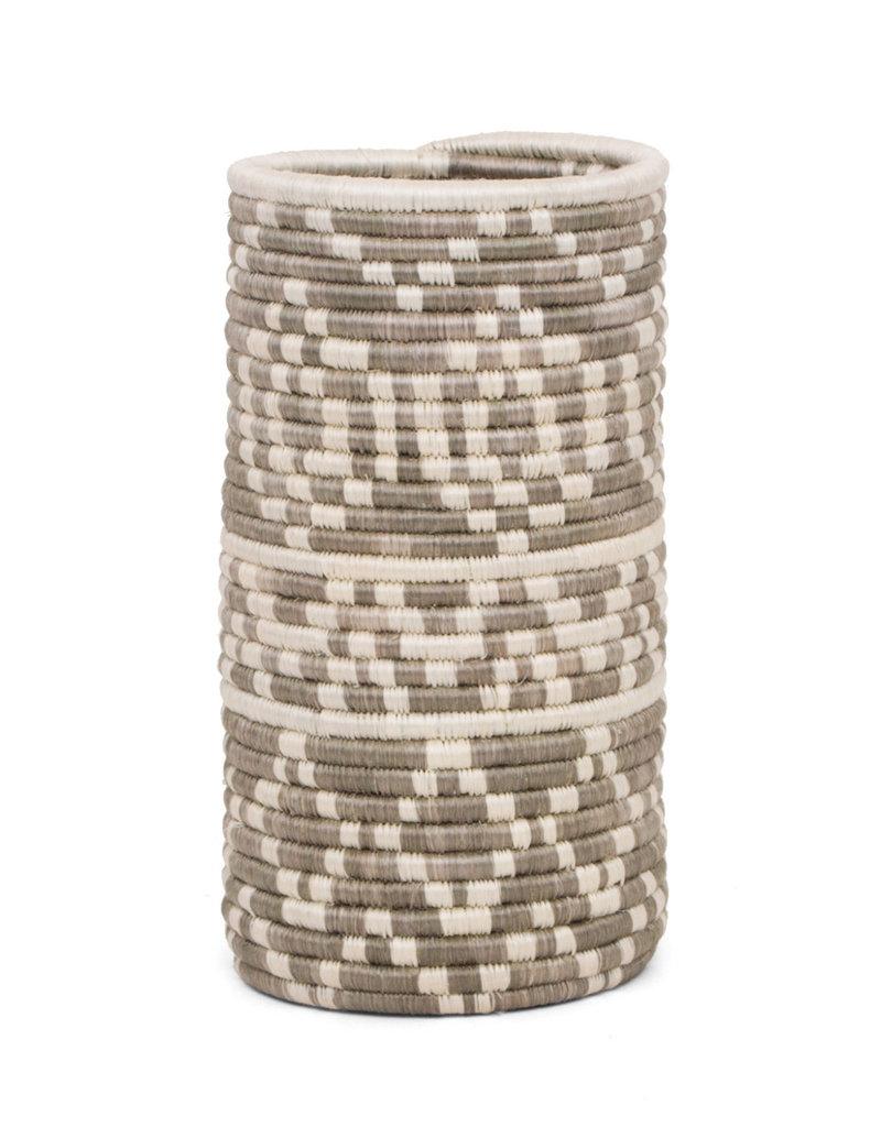 Kazi Light Taupe Diyama Sisal Vase