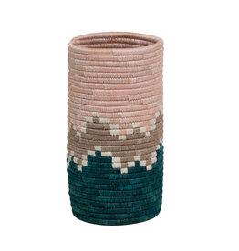 Kazi Cloud Pink Bahari Sisal Vase